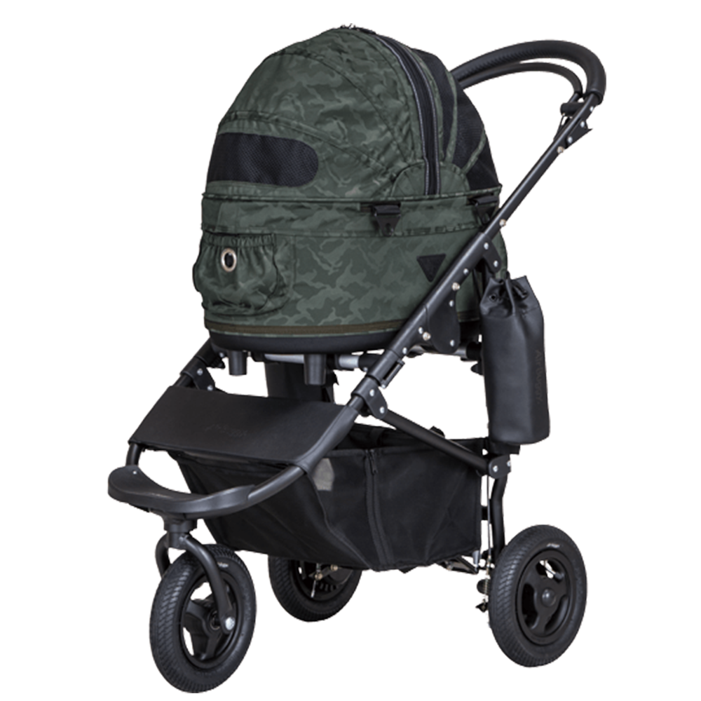Dome 2 Brake Pet Stroller: Gradation Camo (SM)