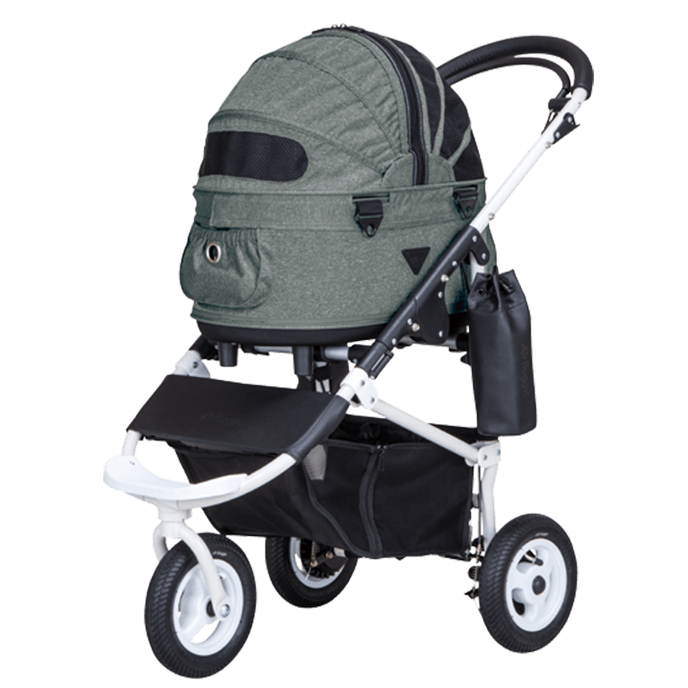 Dome 2 Brake Pet Stroller: Urban Stone (SM)