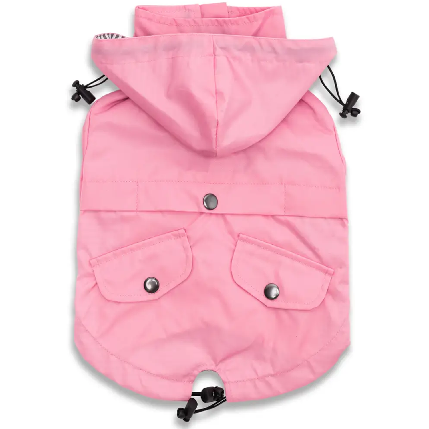 Light Pink Dog Raincoat
