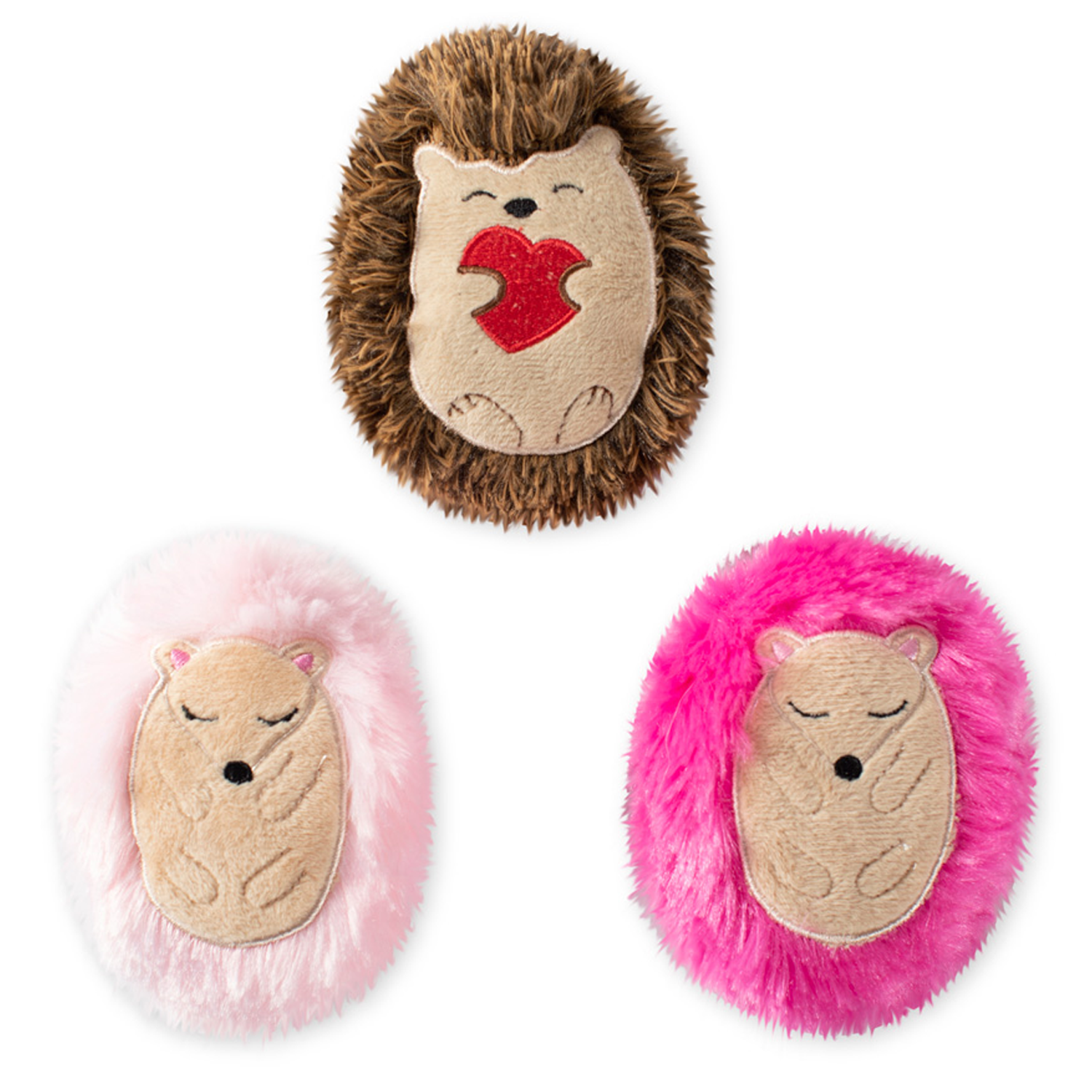 Hedge-Hugs And Kisses Dog Toys