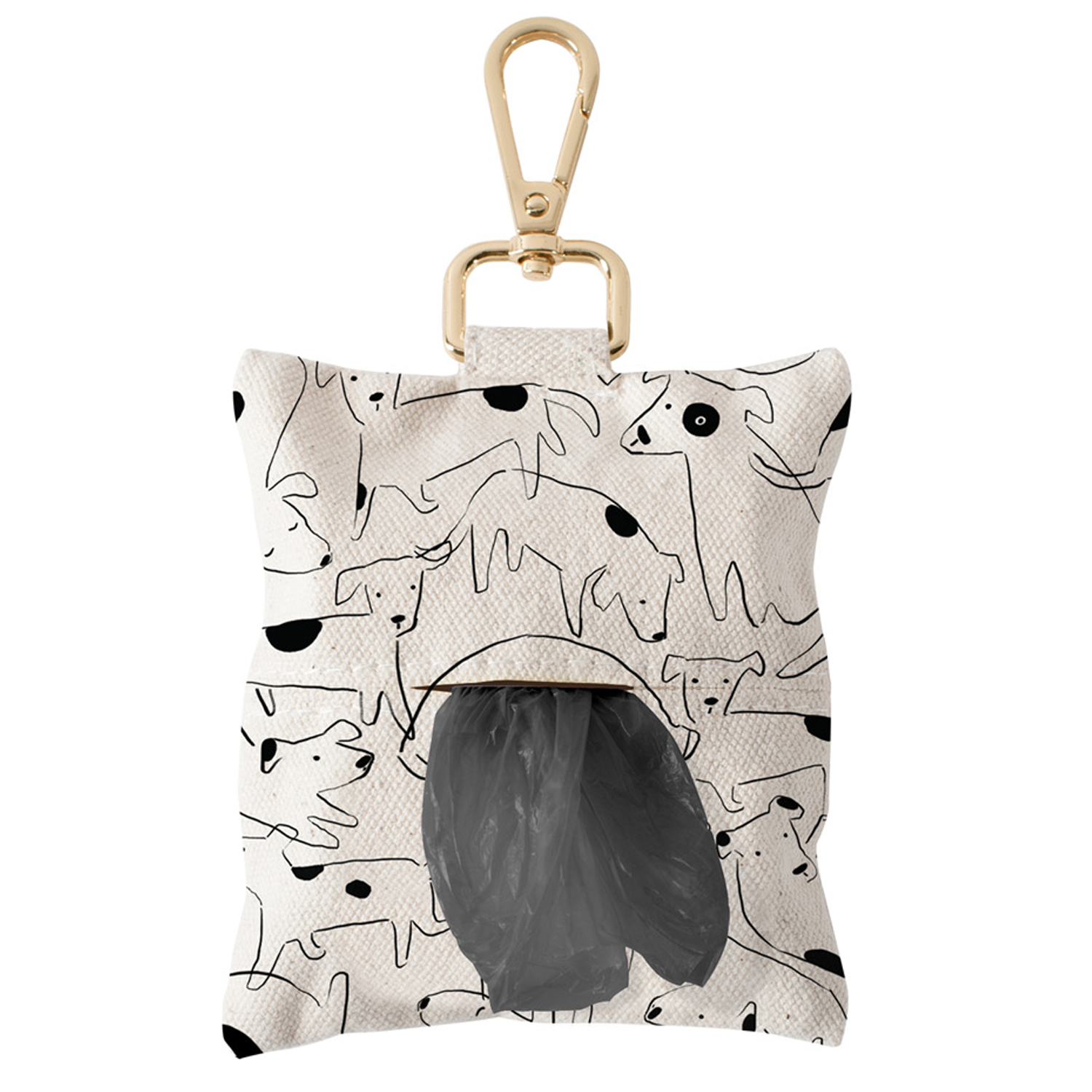 Nosy Dog Canvas Poop Bag Dispenser