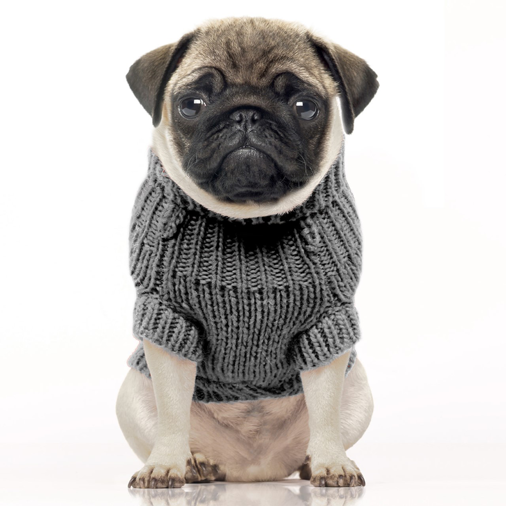 Grey Irish Dog Sweater