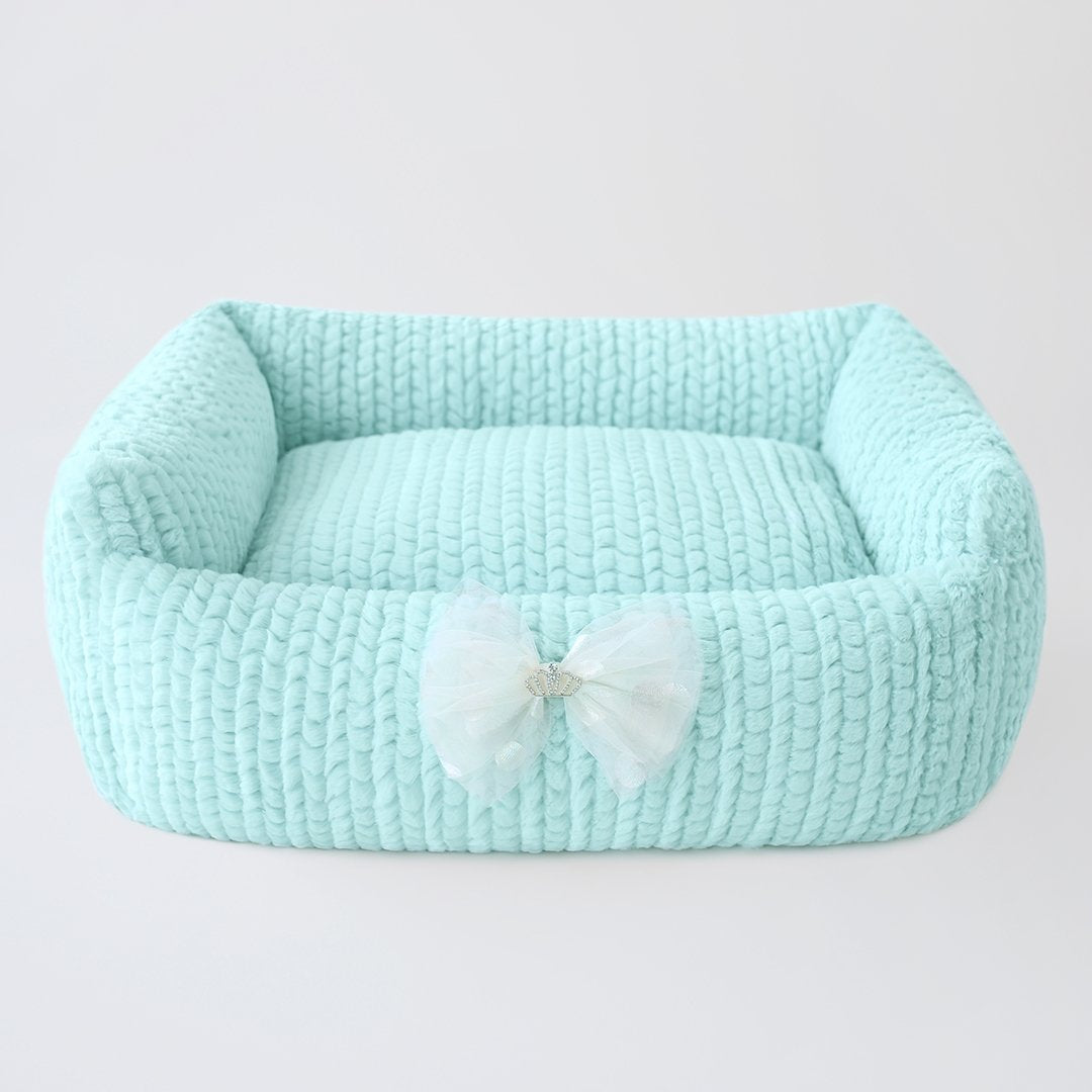 Dolce Dog Bed: Ice