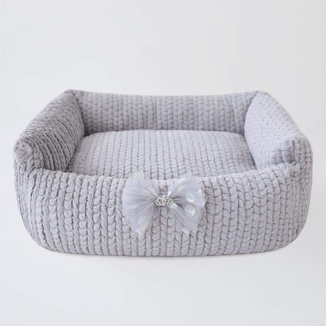 Dolce Dog Bed: Sterling