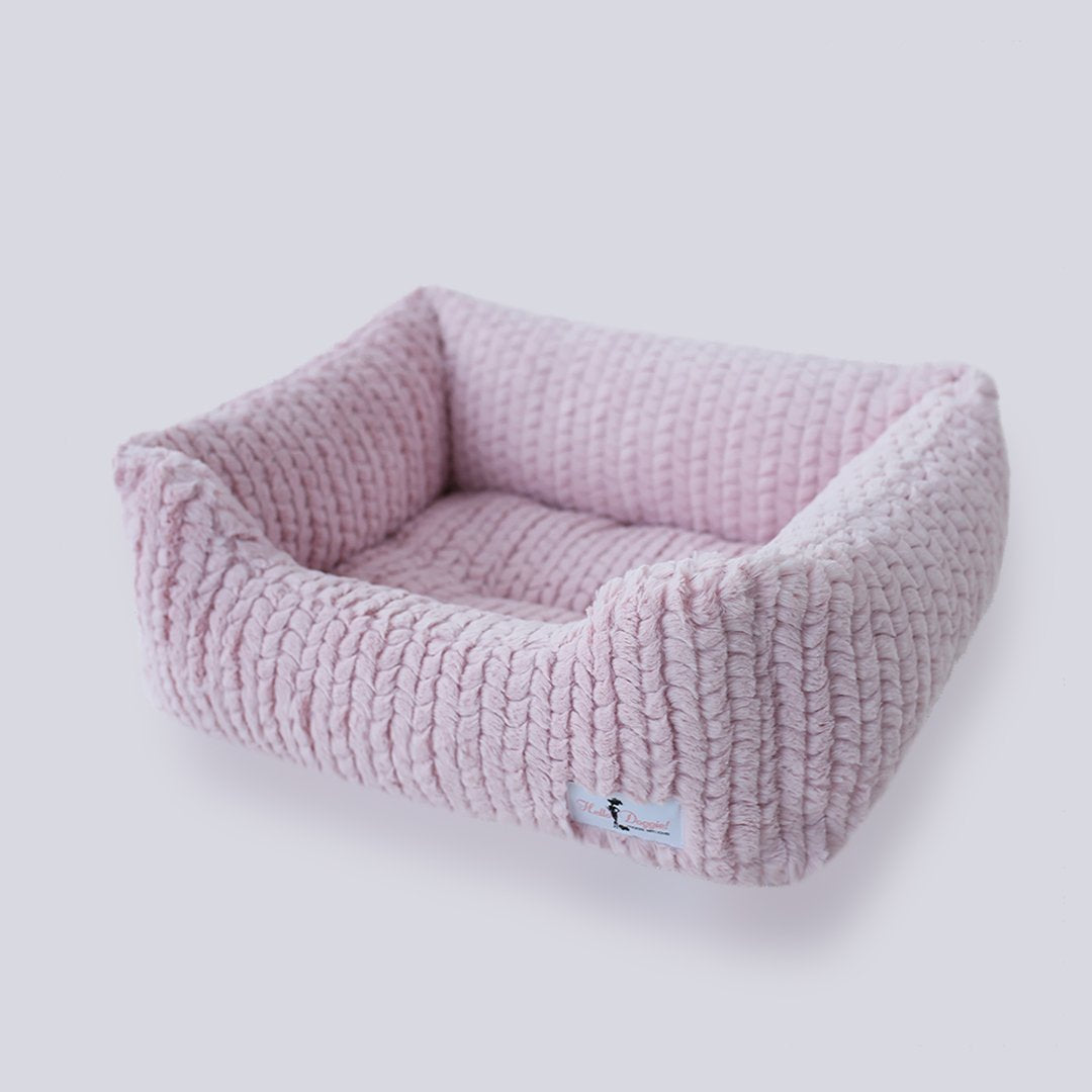 Paris Dog Bed: Rosewater