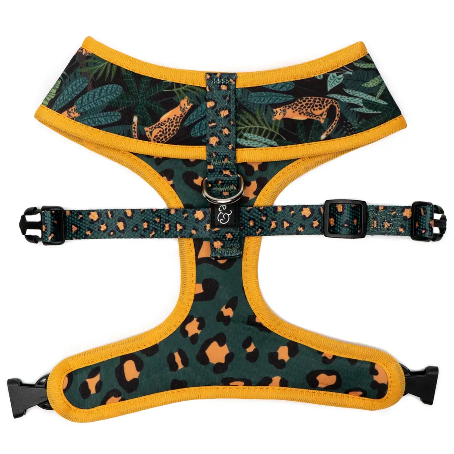Jungle Vibes Reversible Dog Harness