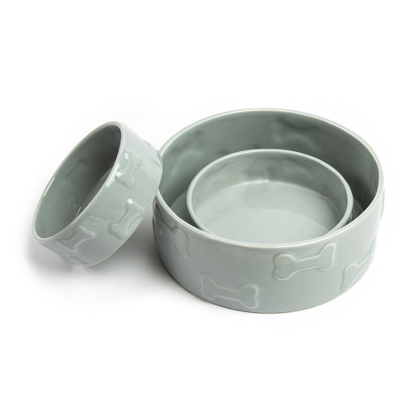 Manor Pet Bowl: Grey