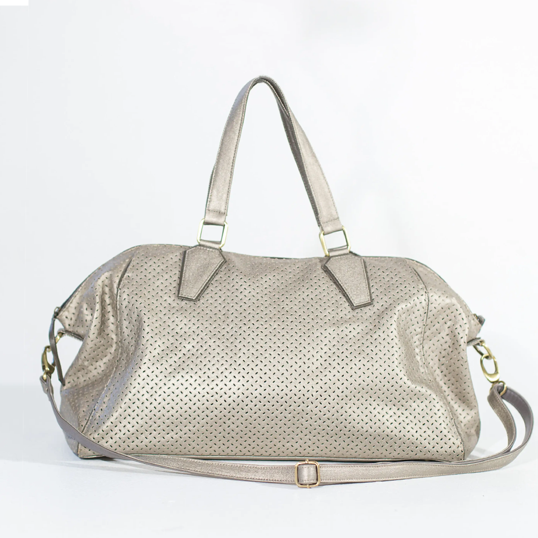 Nat Tote Dog Carrier: Champagne