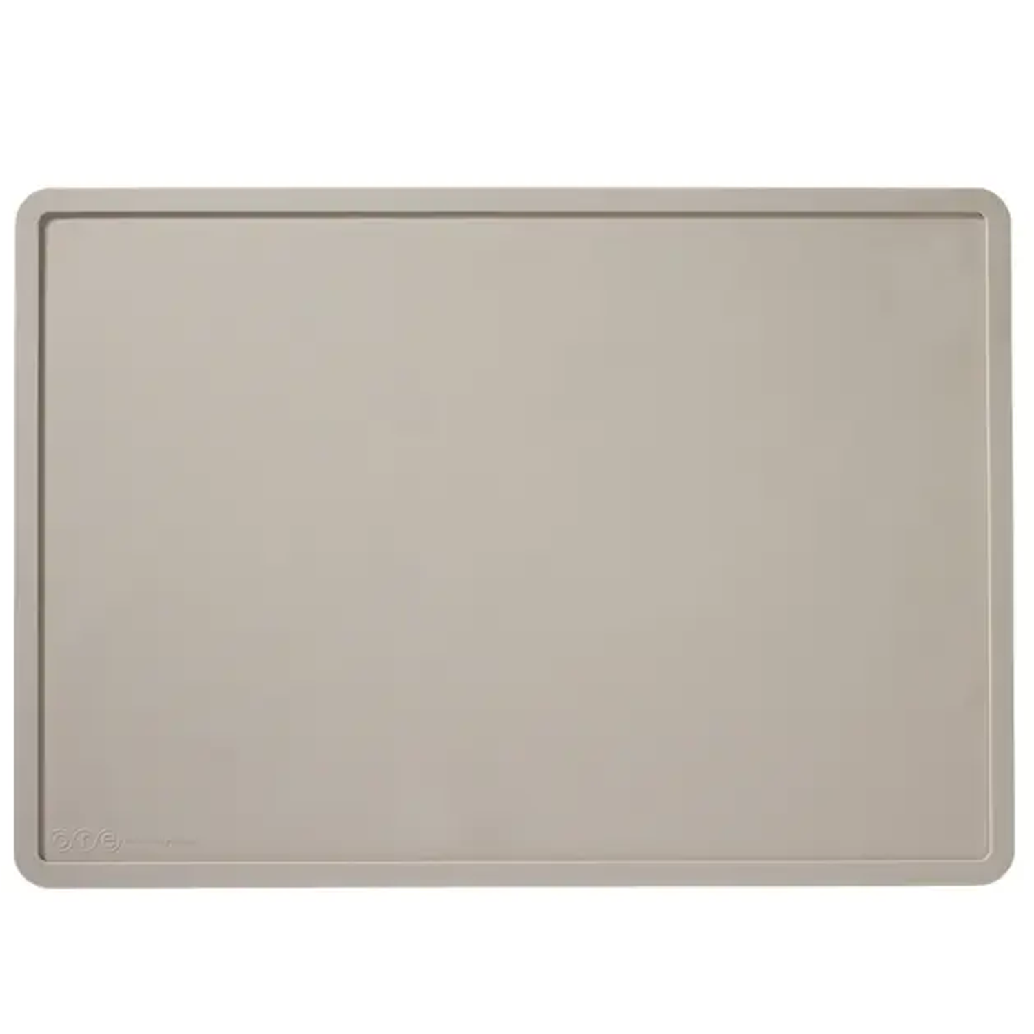 Light Gray Silicone Dog Mat