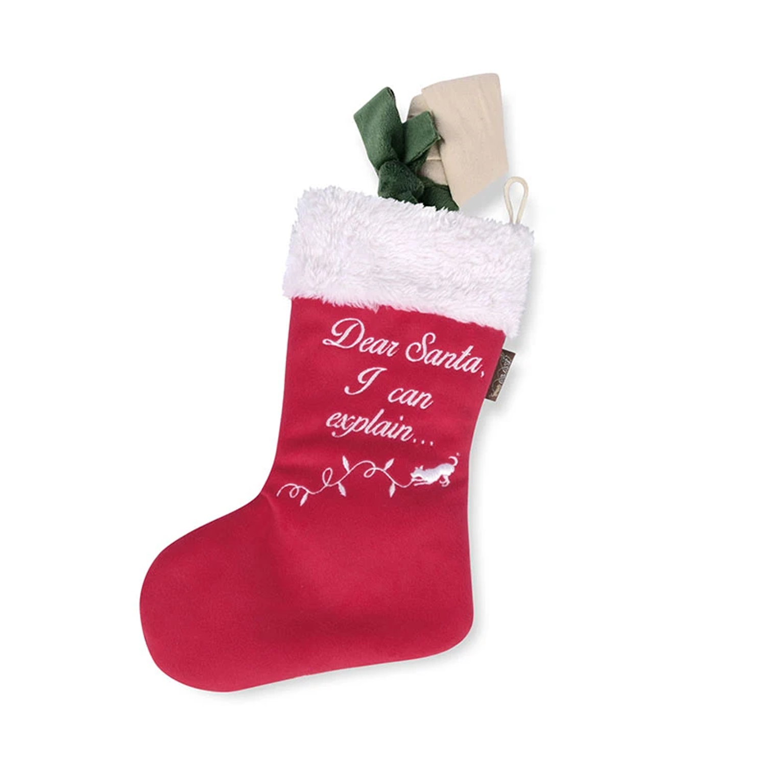 Good Dog Stocking Dog Toy