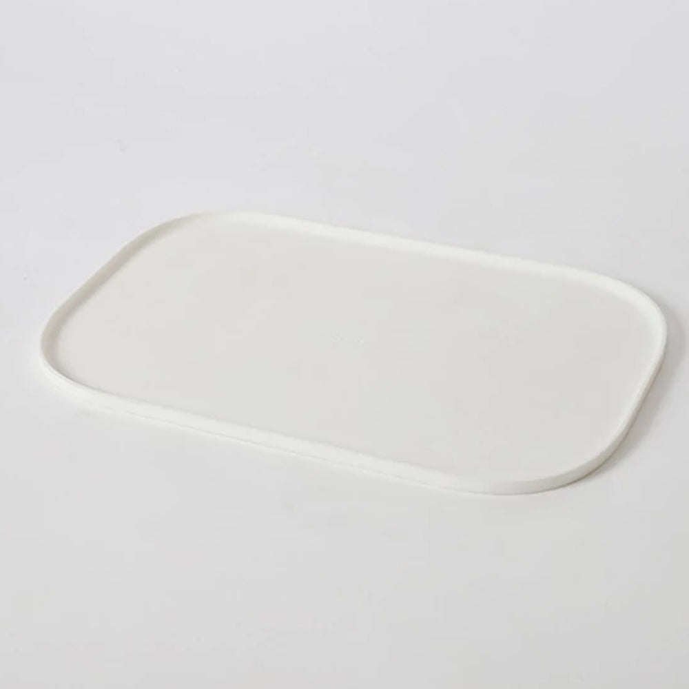 White Modern Dog Mat