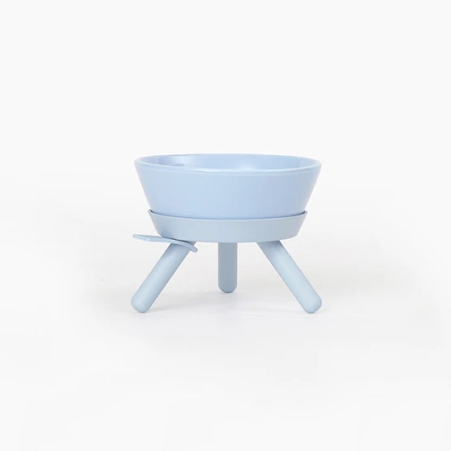 Blue Modern Dog Bowl Set