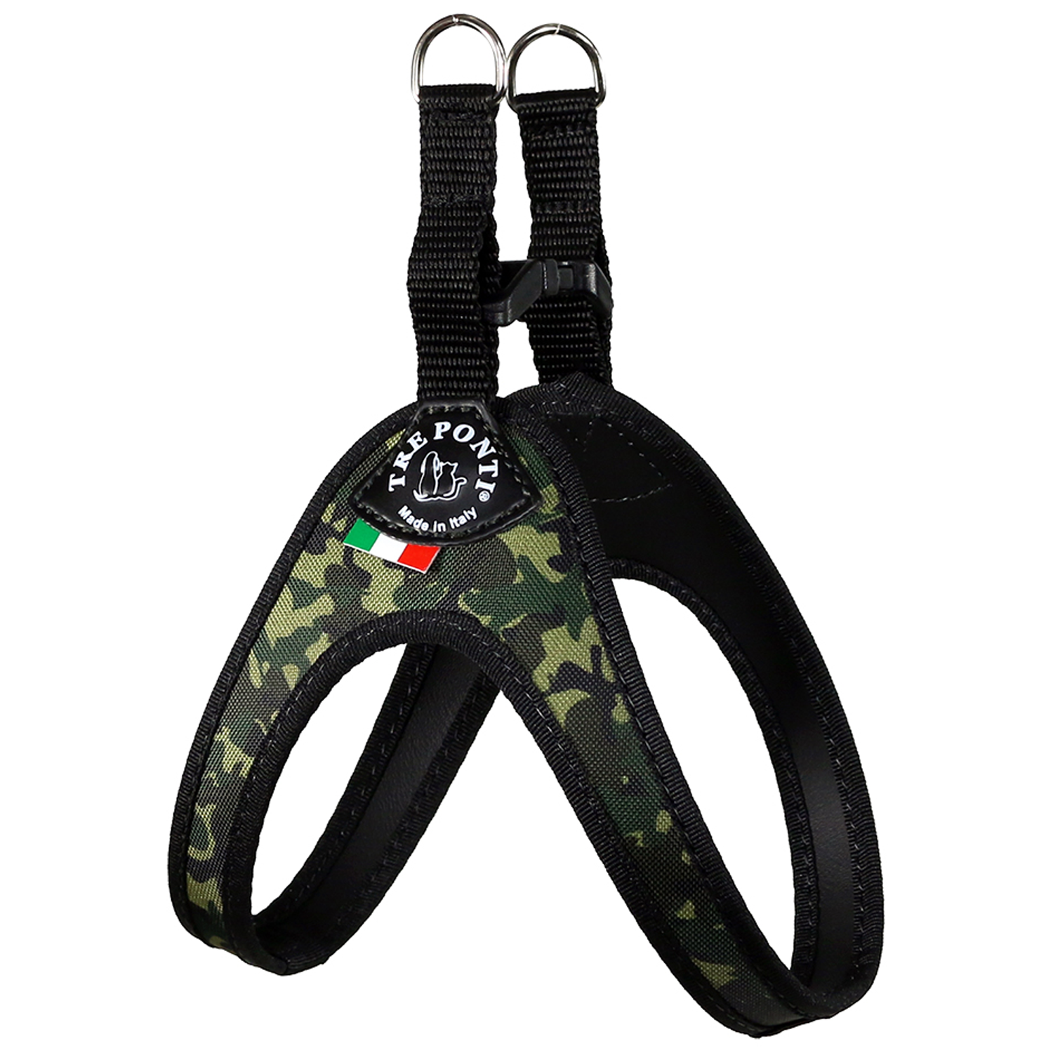 Camo Buckle Dog Harness