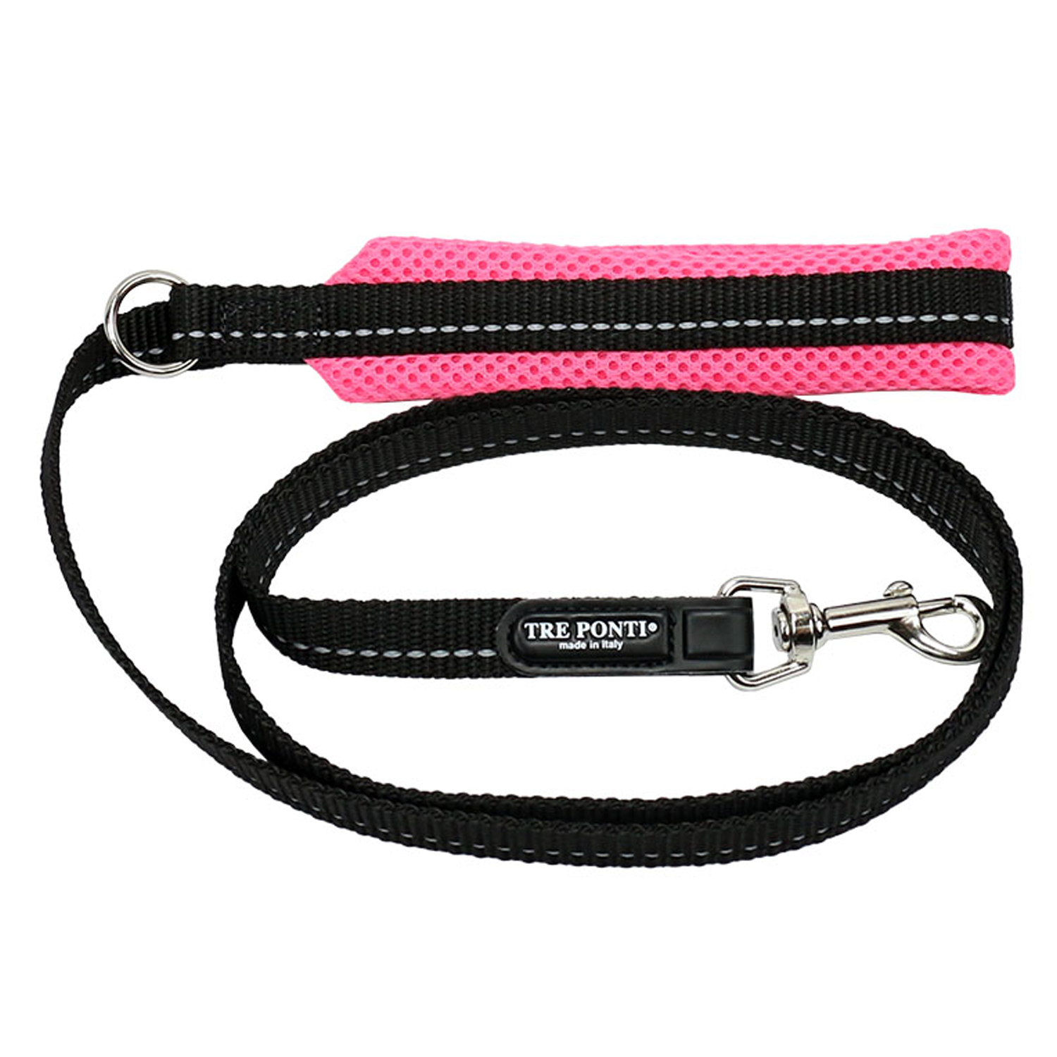Hot Pink Mesh Dog Leash