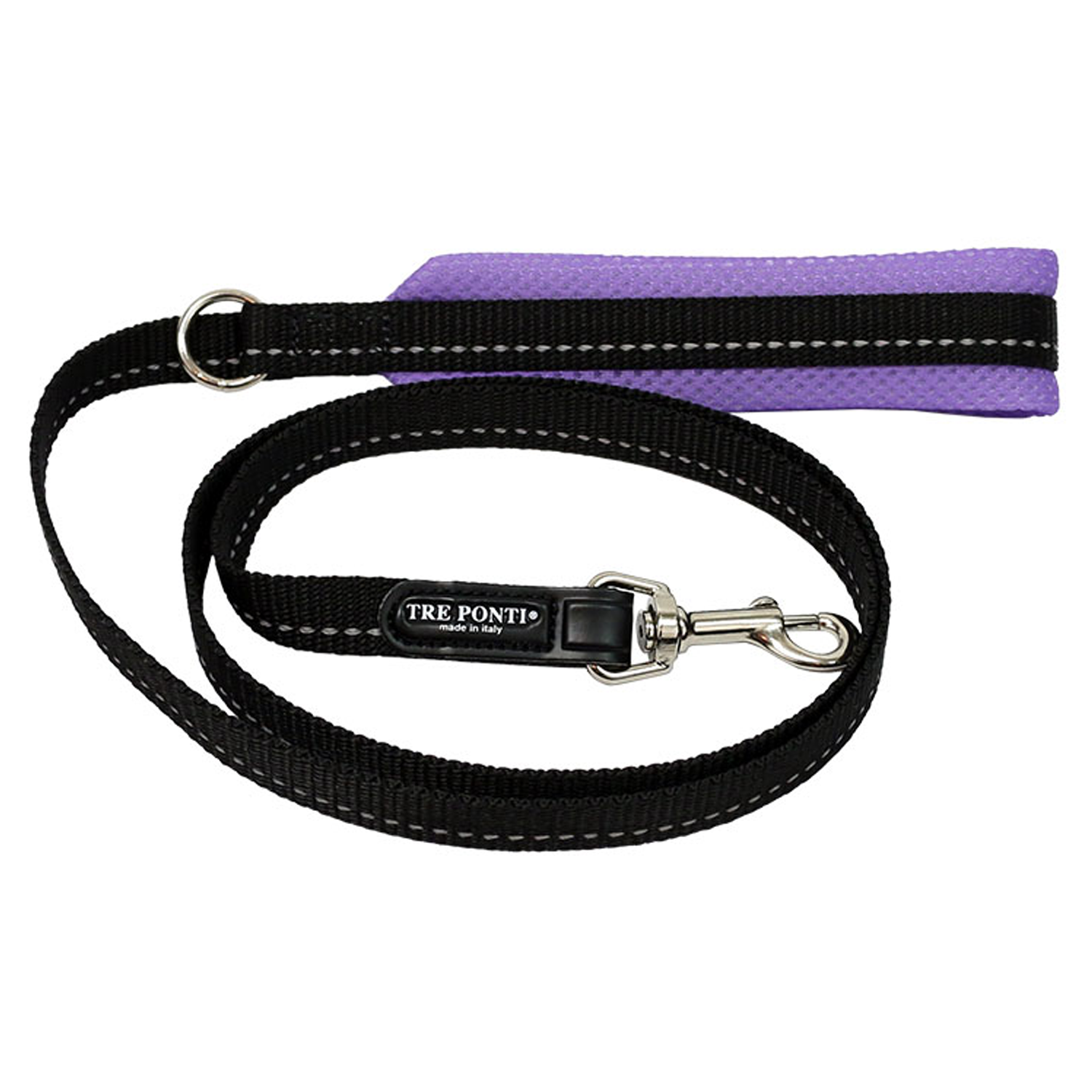 Lilac Mesh Dog Leash