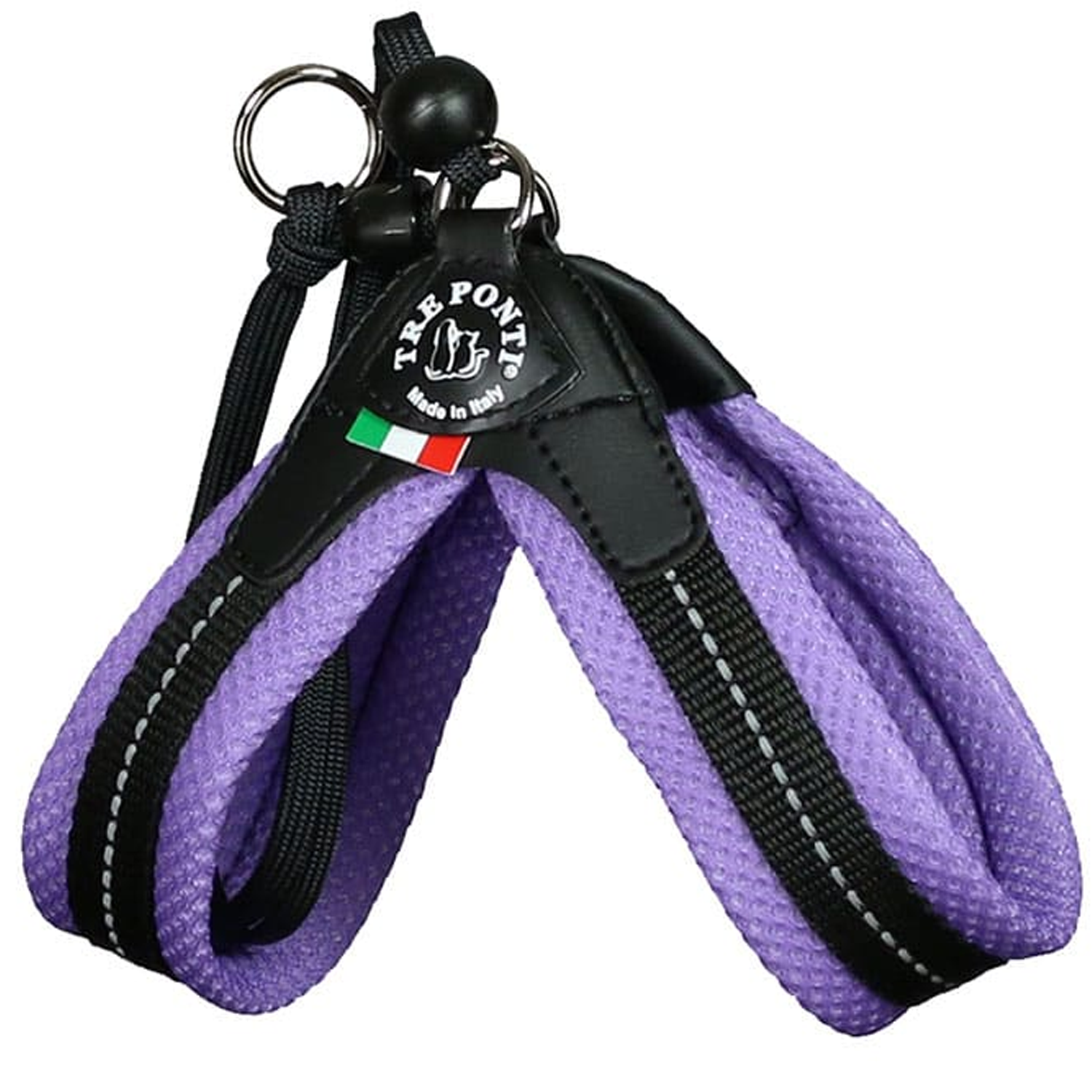 Lilac Mesh Strap Dog Harness