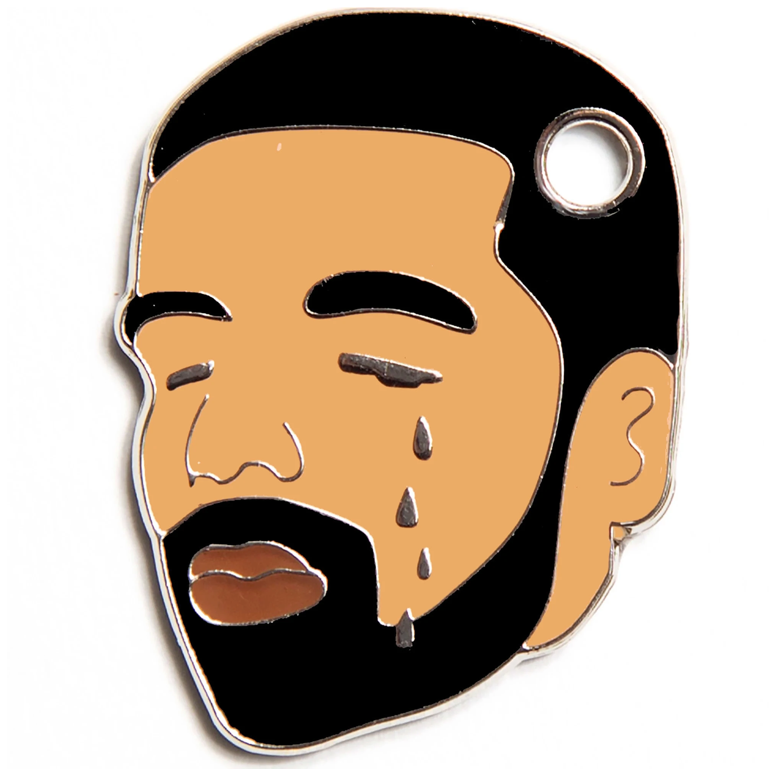 Drake Tears Pet ID Tag