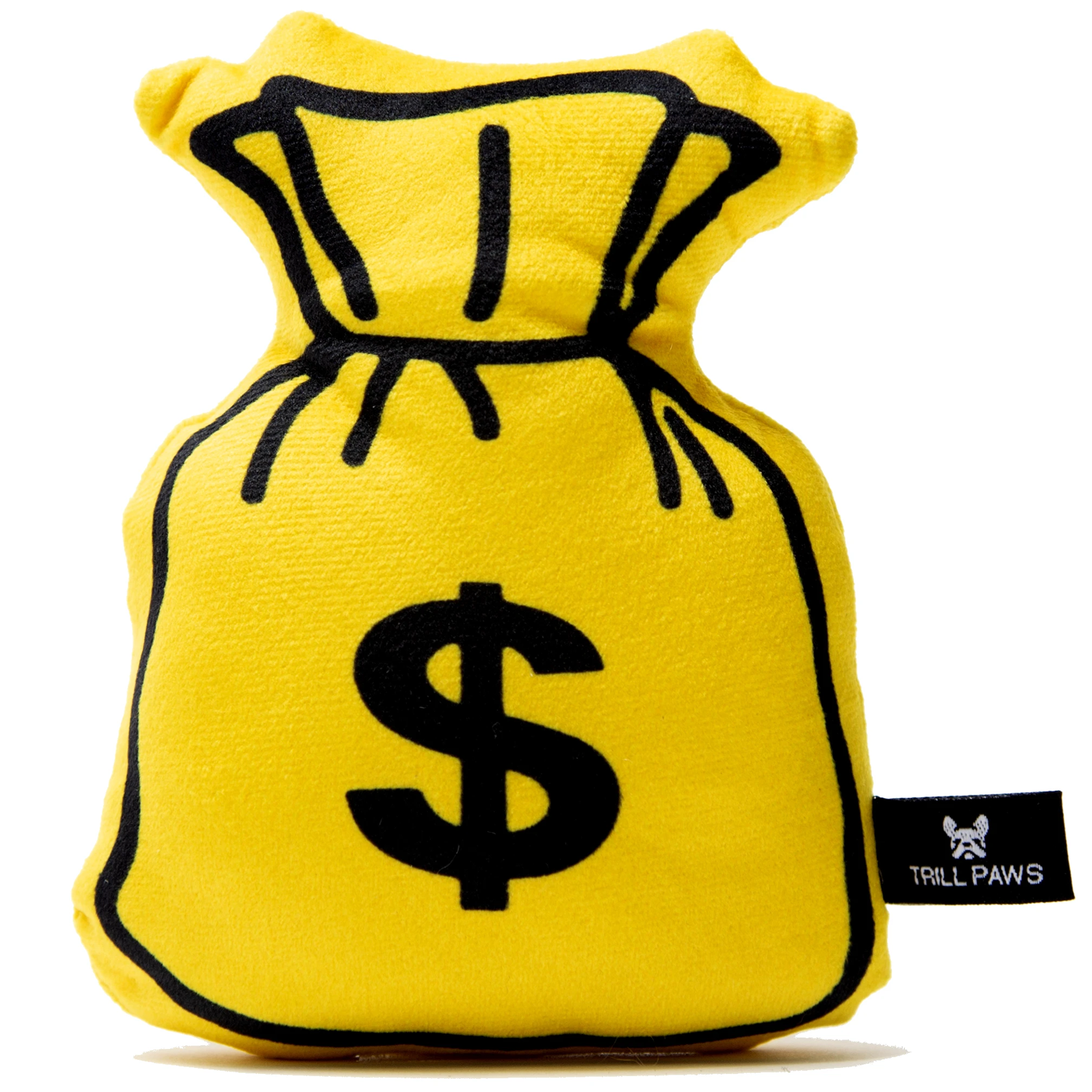 Money Bag Dog Toy
