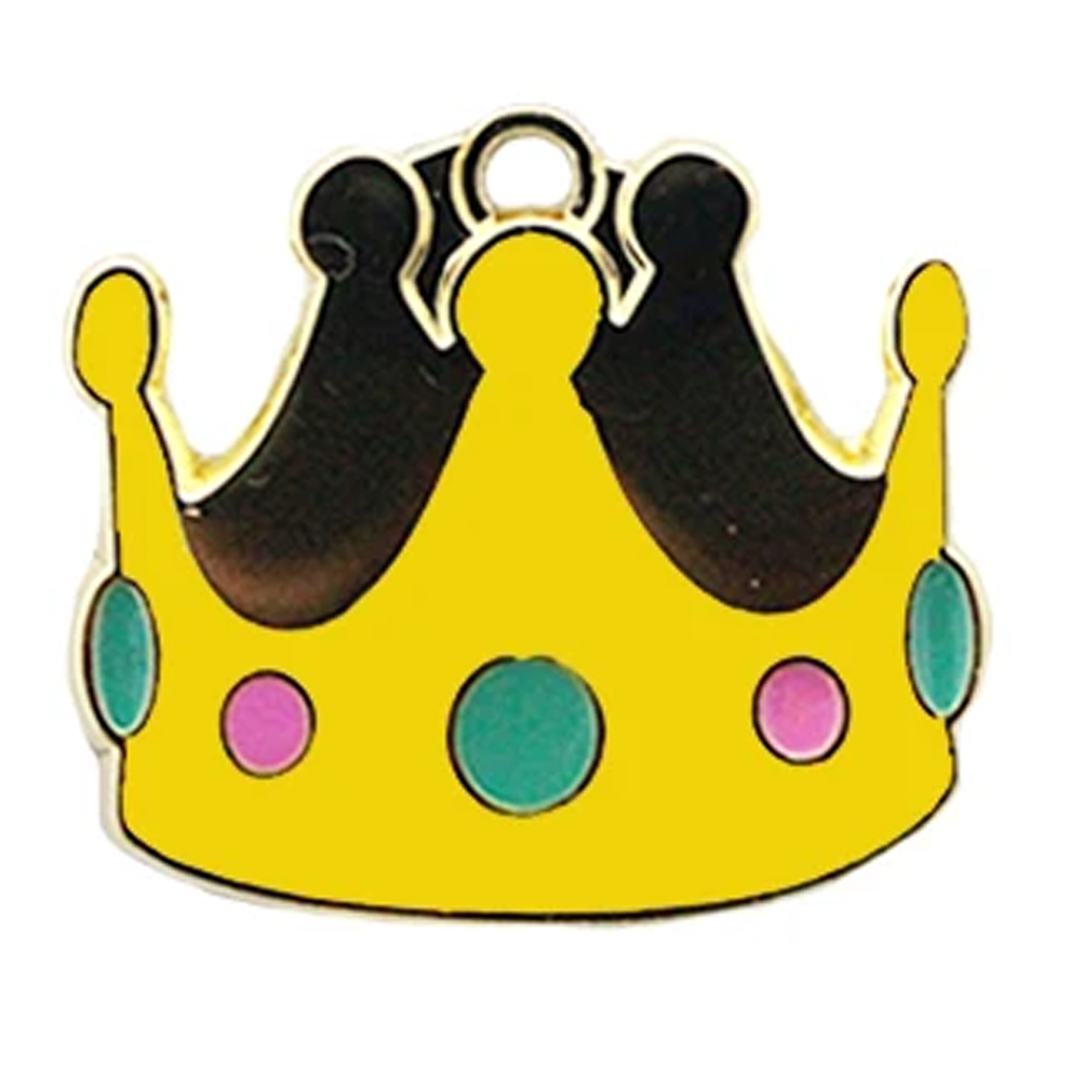 Crown Pet ID Tag