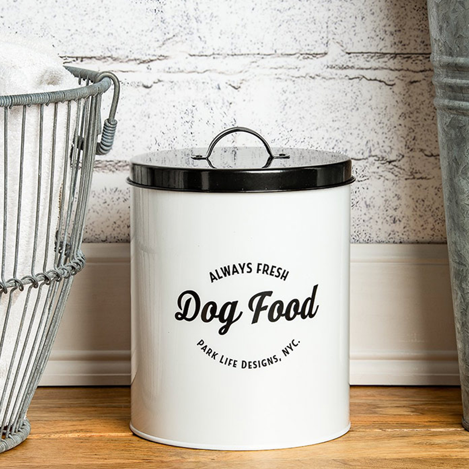 Wallace Dog Food Canister