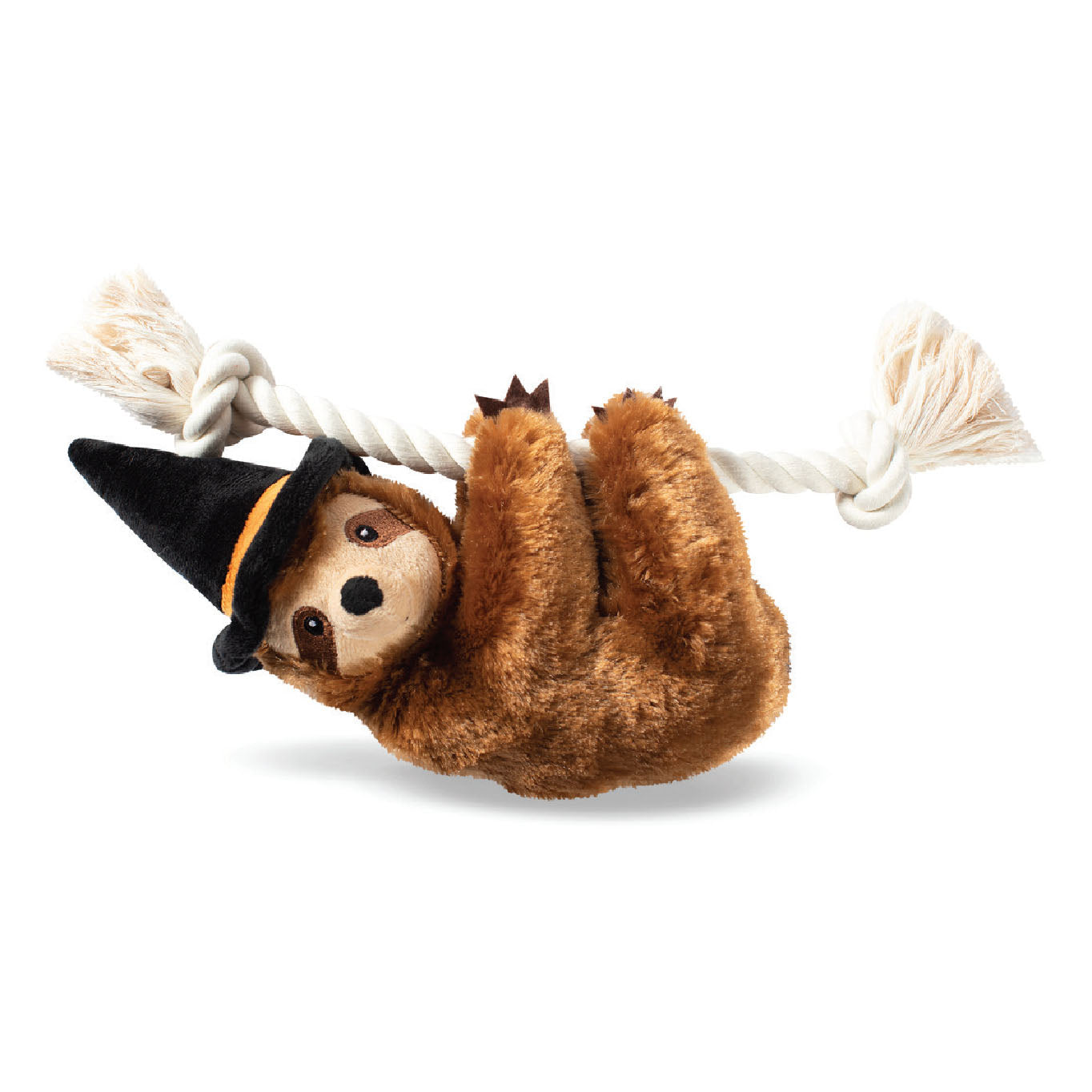 Pet Boutique - Dog Toy - Witchy Sloth on a Rope Dog Toy
