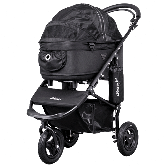 Dome 2 Brake Pet Stroller: Black