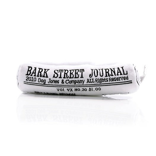 Bark Street Journal Dog Toy