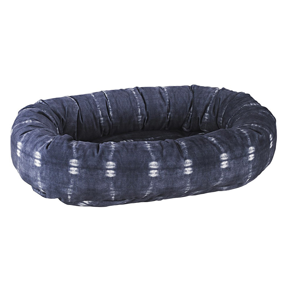 Bali Blue Donut Dog Bed