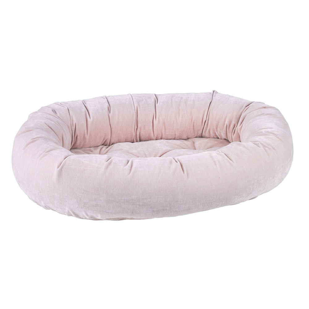 Donut Dog Bed: Blush