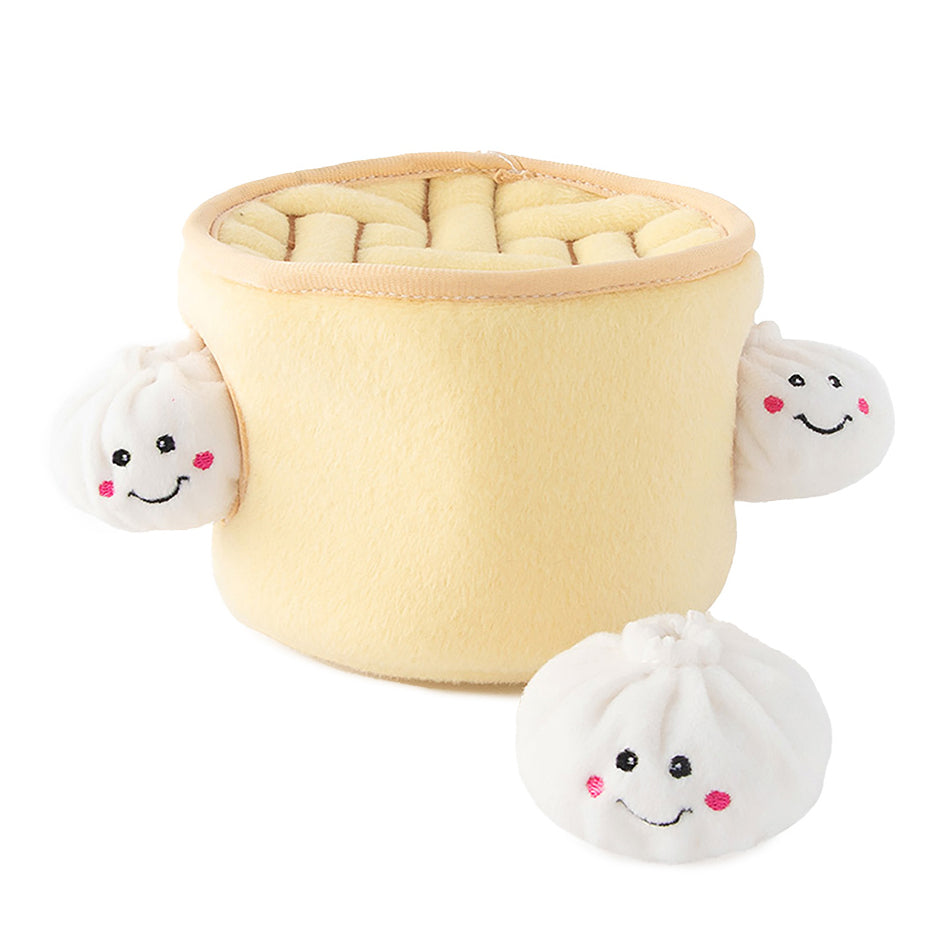 Soup Dumplings Dog Toy