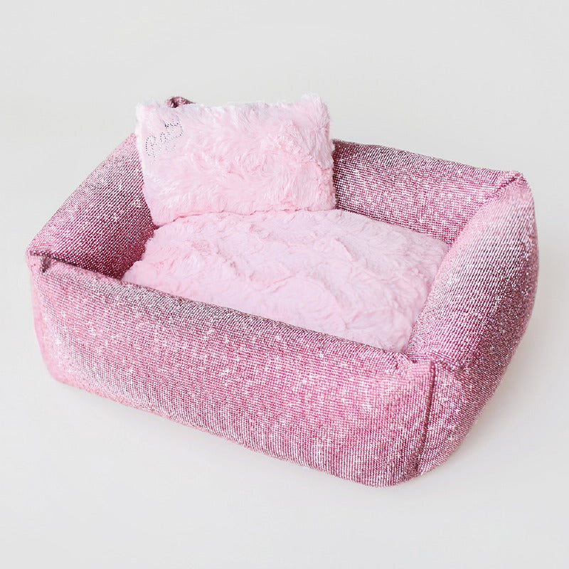 Prima Donna Crystal Dog Bed