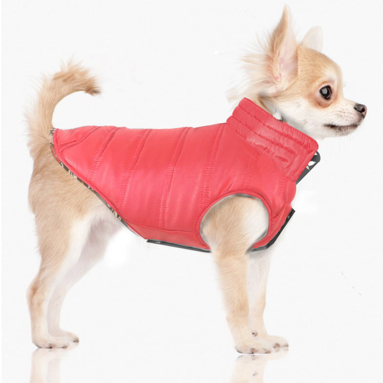 Lili Rose Reversible Dog Coat