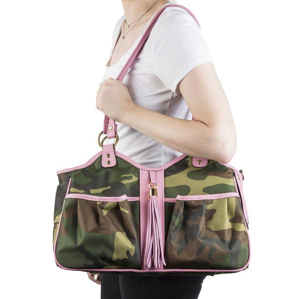 Metro Pet Carrier: Camo & Pink