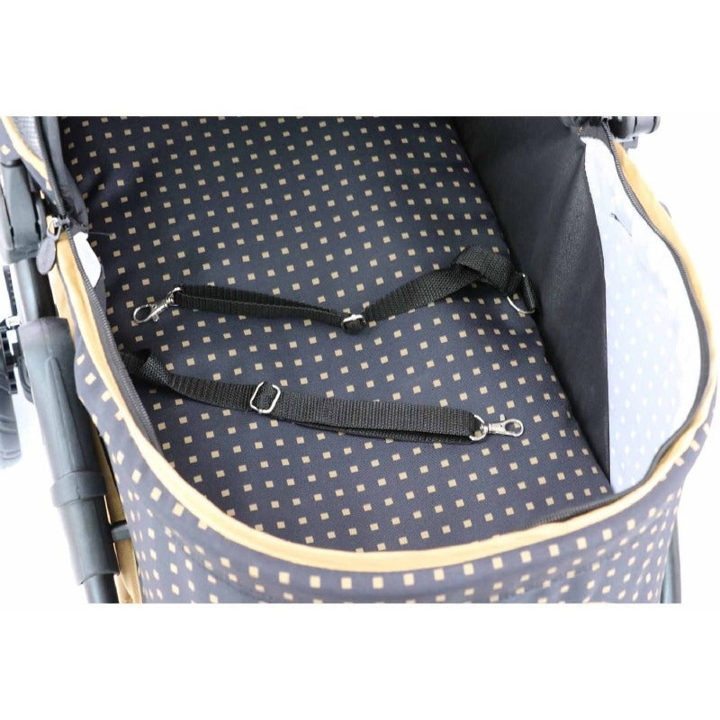 Promenade Pet Stroller: Gold Nugget
