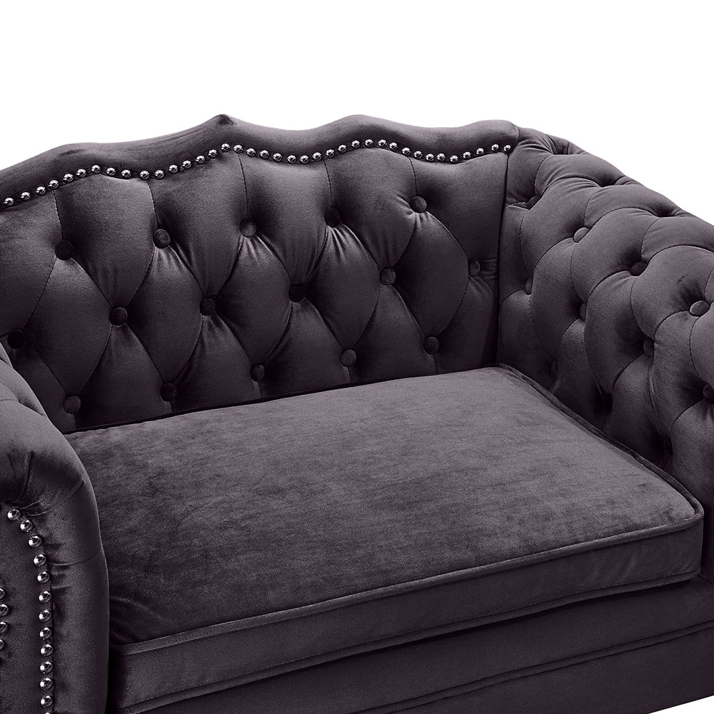 Elizabeth Pet Sofa: Grey