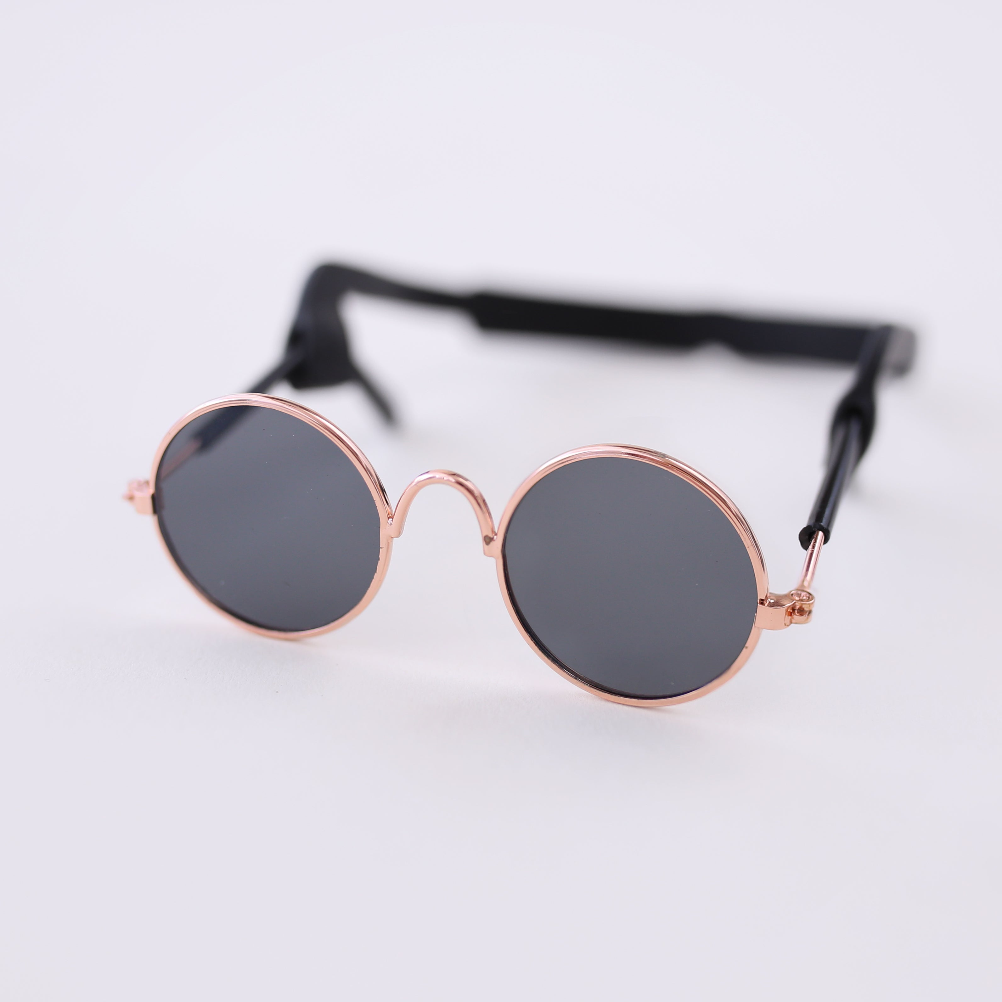 Black Retro Dog Sunglasses
