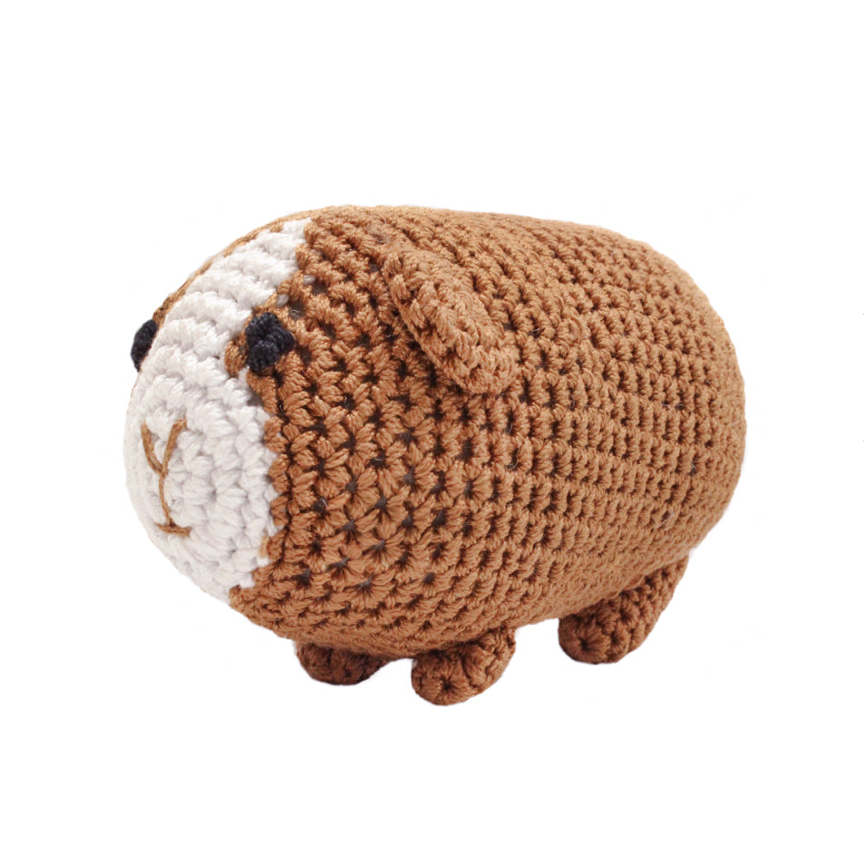 Guinea Pig Crochet Dog Toy