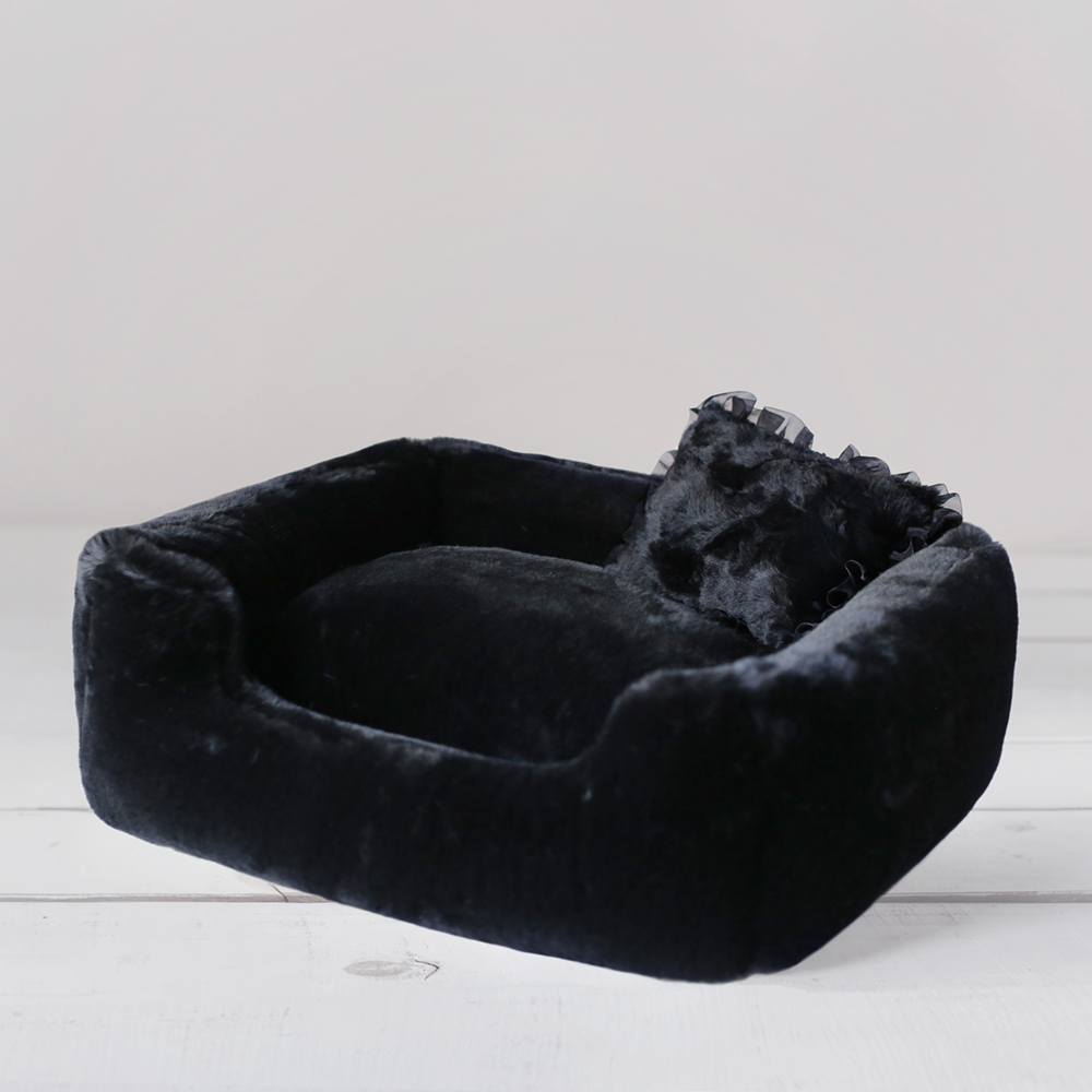 Divine Dog Bed: Black