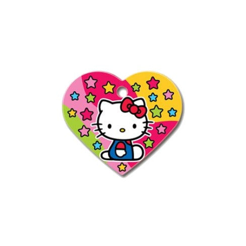 Heart Pet ID Tag: Hello Kitty (Large)