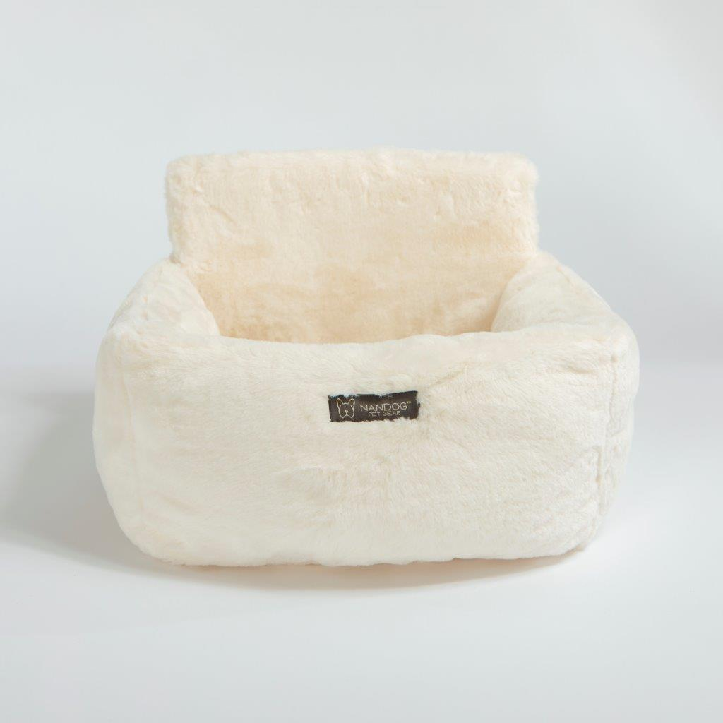Cloud Dog Car Seat: Ivory