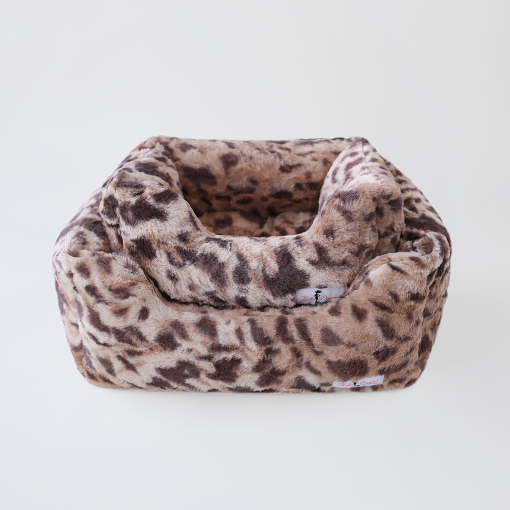 Luxe Luxury Dog Bed: King Leopard