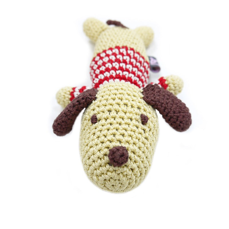 Pet Boutique - Dog Toys - Crochet Lazy Dog Toy