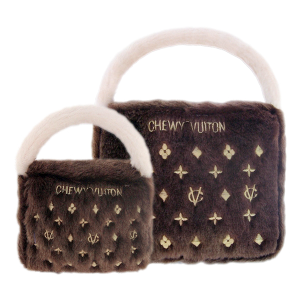 Chewy Vuiton Purse Dog Toy: Classic