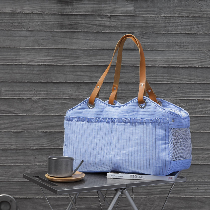 Tosho Picnic Dog Carrier: Blue