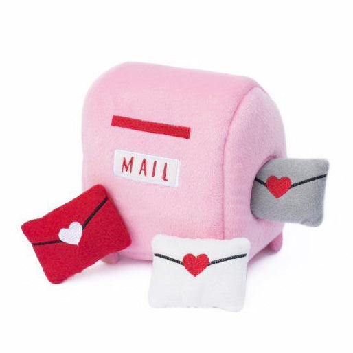 Mailbox & Love Letters Dog Toy