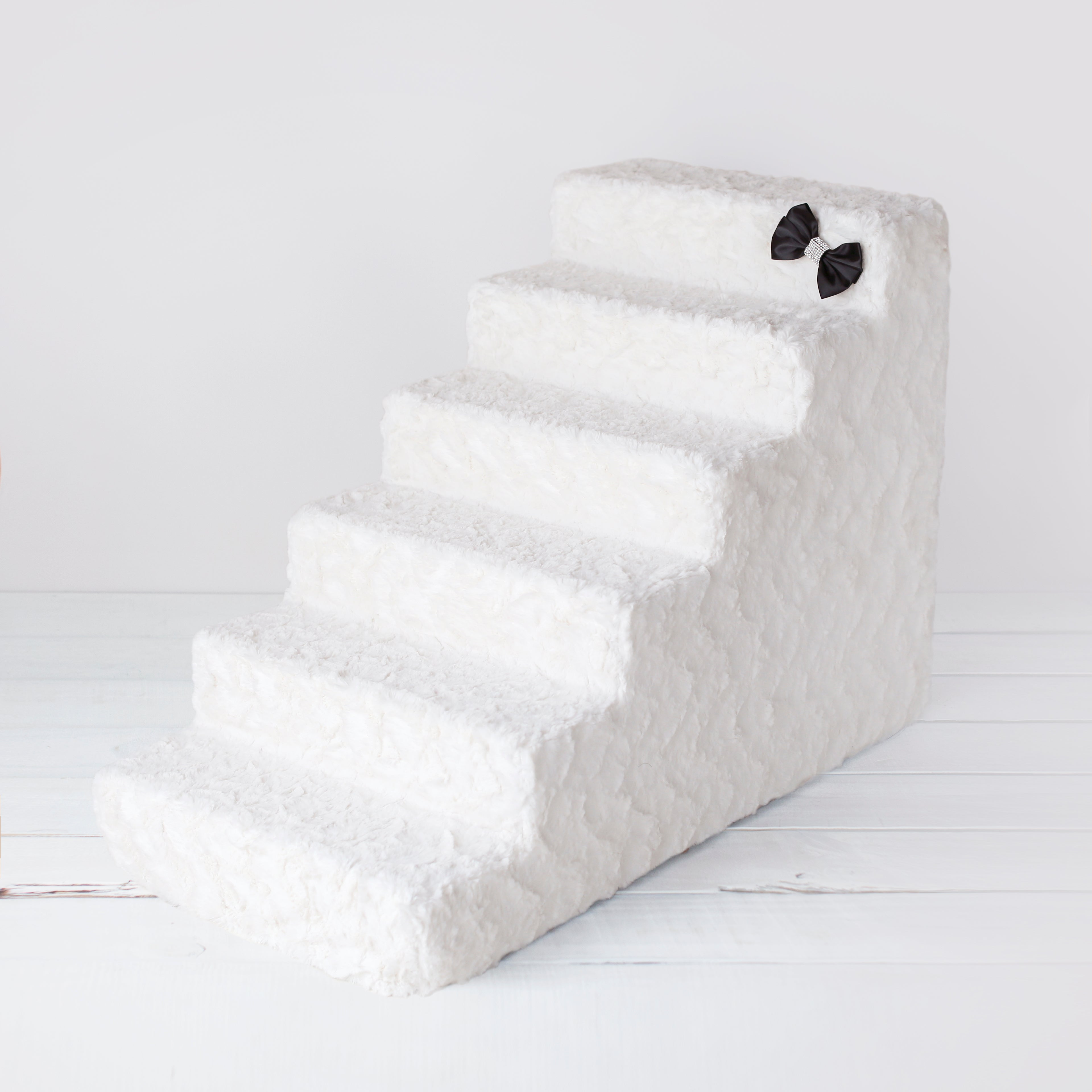 Pet Stairs: Ivory (6-Step)