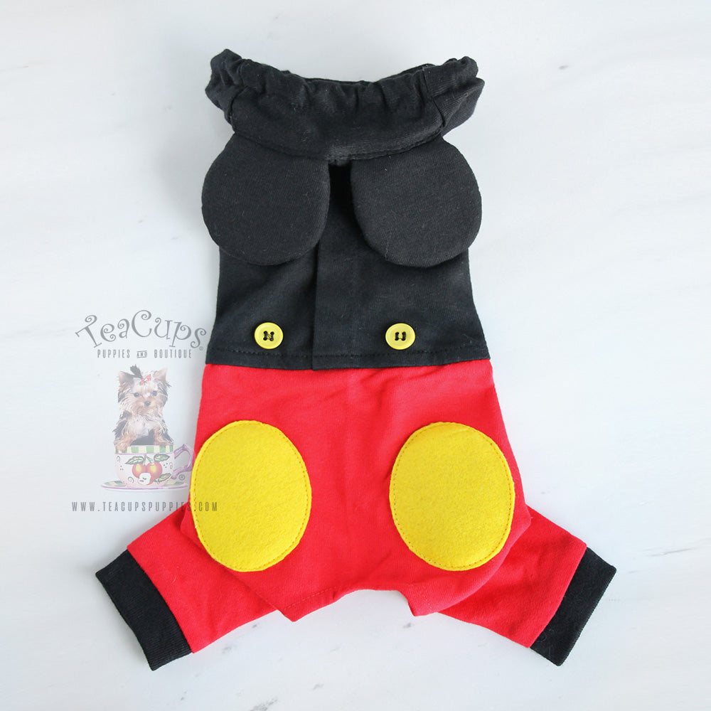 Mickey Mouse Dog Costume
