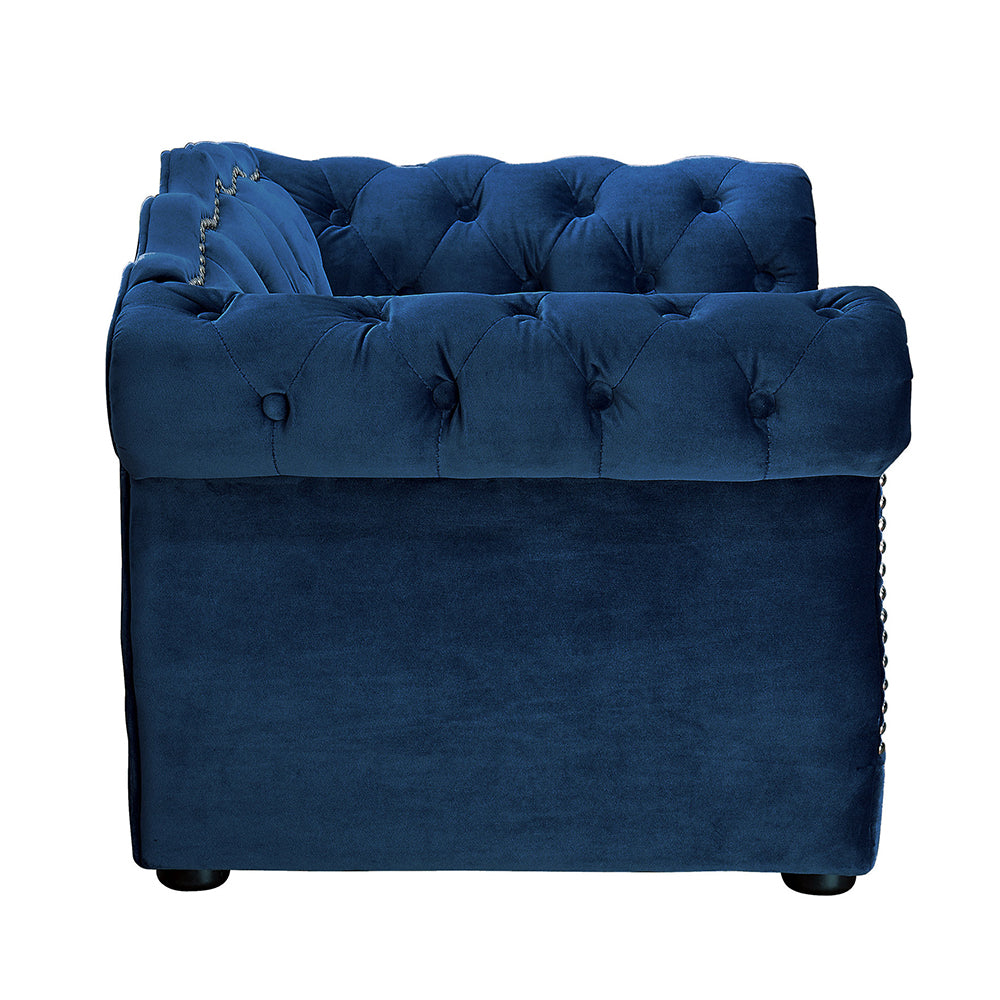 Elizabeth Pet Sofa: Navy