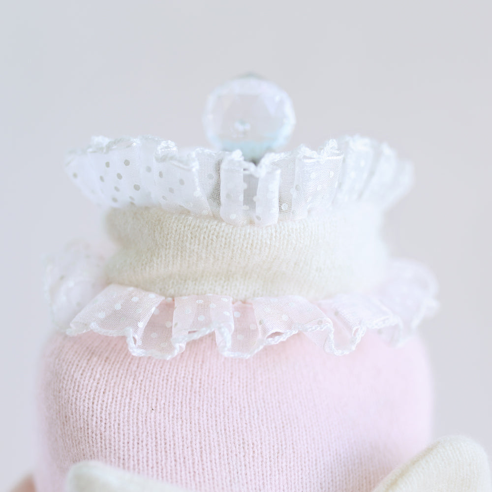 Bow Dog Sweater: Pink
