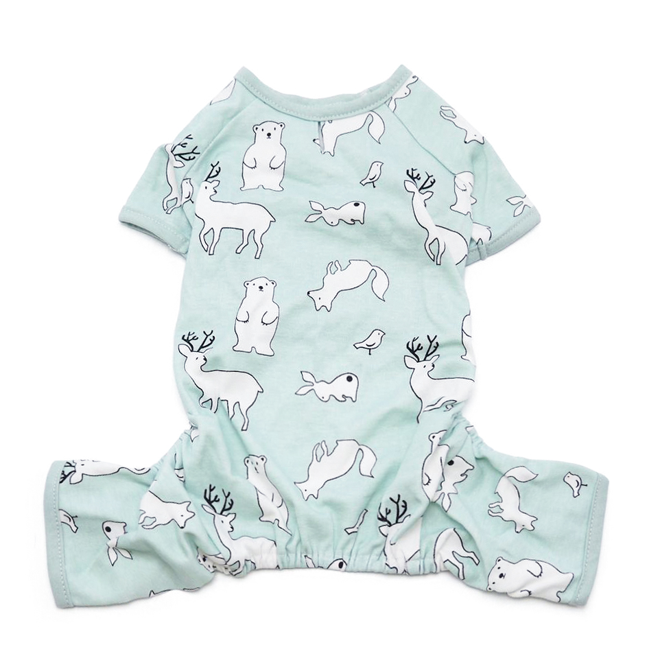 Polar Dog Pajamas